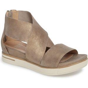 Eileen Fisher Sport Platform Sandals platinum